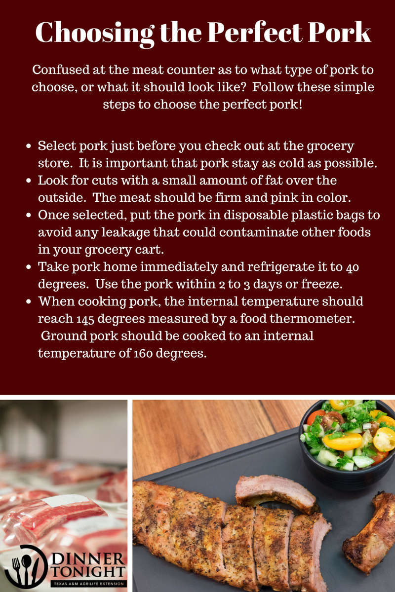 Choosing the perfect pork dinner tonight - Choose best pork ...